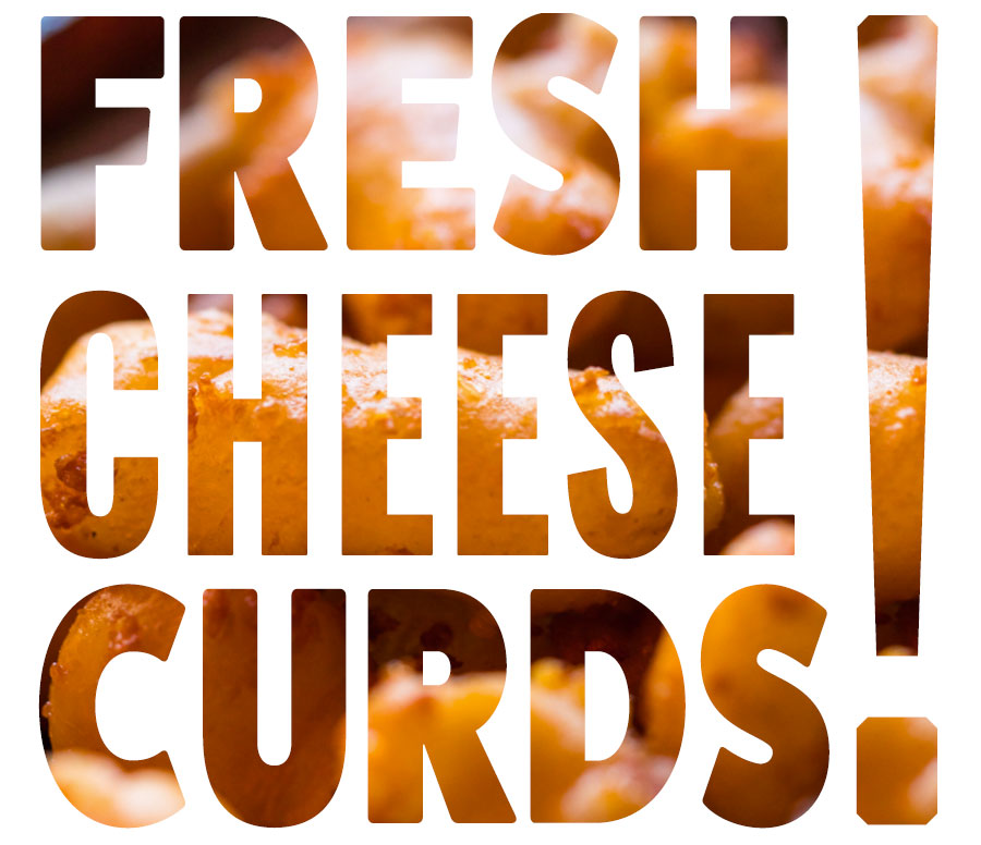 Fresh Cheese Curds text